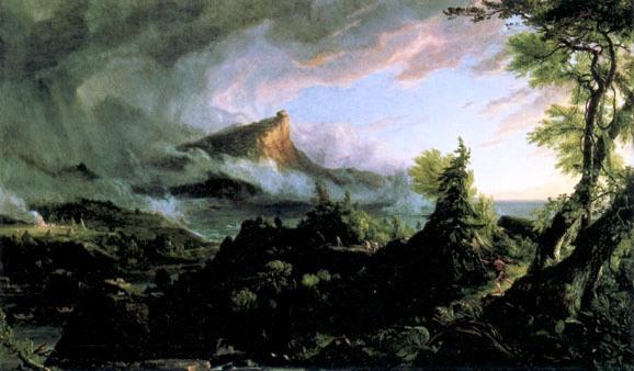 The Savage State (Thomas Cole, 1836)